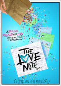 The Love Note Musical  to Debut Off-Broadway in New York City