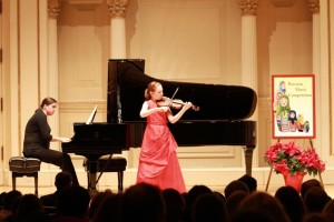 Winning violinist, 11, says she'd rather pursue science for career