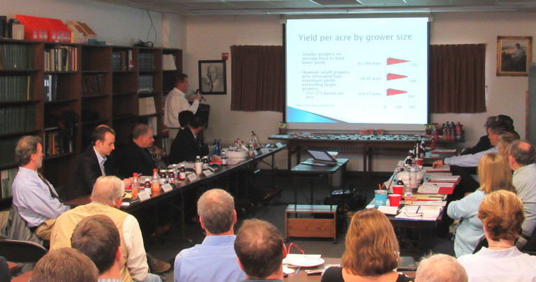 Task force meets in Wareham to study future of cranberry industry