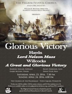 Glorious Victory Concert Poster