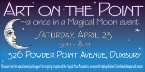 Art on the Point Benefit Supports Magical Moon Foundation
