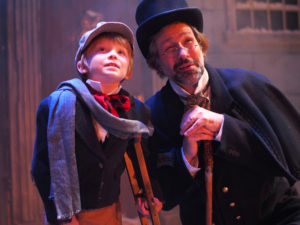 a-christmas-carol-2016-declan-dunn-as-tiny-tim-and-gerry-bova-as-scrooge