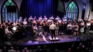 Pilgrim chorus swings into summer in four towns