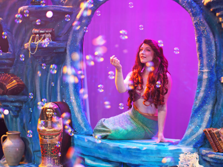 Sarah Kelly discusses being cast as Ariel in 'The Little Mermaid'