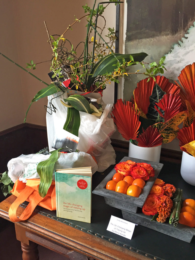 Floral art makes the books bloom in Norwell