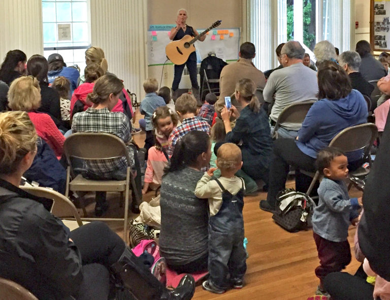 The James Library Presents Mama Steph:  Music, Movement and More!
