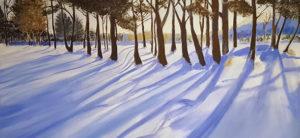 Jocelyn Dana Thomas's work in Hull Artists Winter Exhibit
