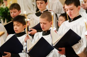 Christmas music in the European chorister tradition