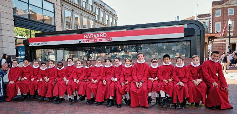 The Boys' Choir of Saint Paul's | Harvard Square Embarks on European Tour