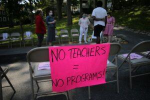 In unprecedented times, teachers brace for layoffs