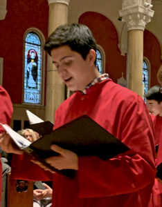 Saint Paul's Choir School to feature Scituate teen in filmed concert