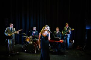 Vocalist Susie Pepper and Mixology 007 Tribute Concert