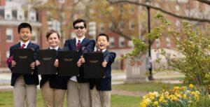 Saint Paul's Choir School Premieres 18th Century Work in Songs of Springtime Concert Film
